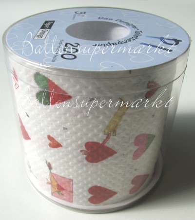 Toilettenpapier, Designer Collection, Liebe, Love
