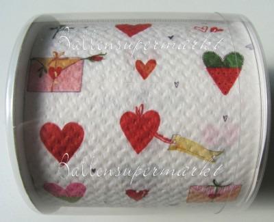 Toielettenpapier, Scherzartikel zu Liebe und Hochzeit