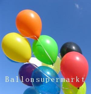 Luftballons vom Ballonsupermarkt-Onlineshop: Da weiss man, was man hat, Qualität im Fachhandel