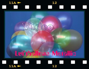 Luftballons Metallic Video