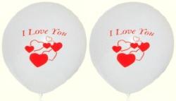 Luftballons Liebe: Ich liebe Dich