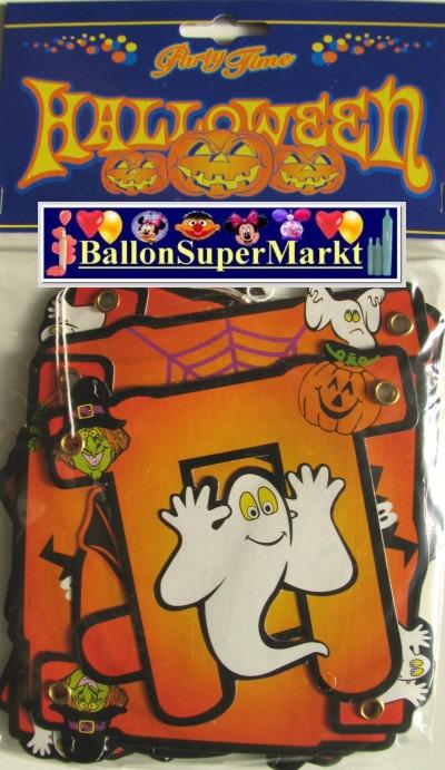 Banner Halloween, Partydeko
