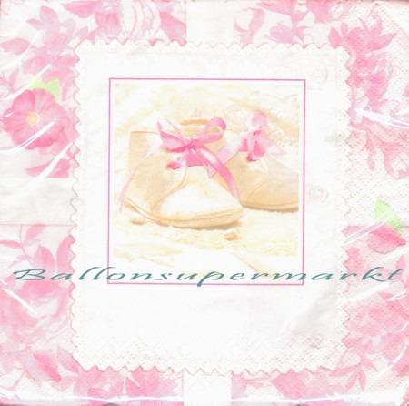 Servietten-Geburt-Taufe-Pink-Tiny-Blessings