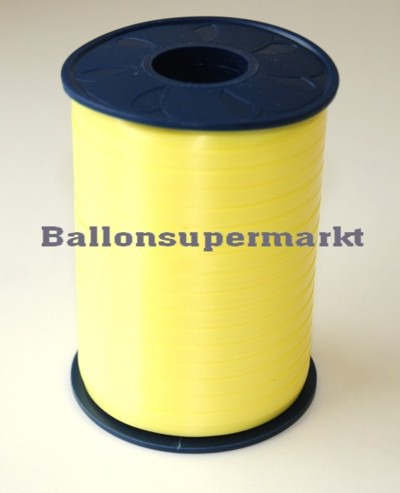 Ballonband-Rolle-Zitronengelb