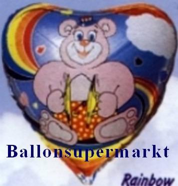 Regenbogen Bär Luftballon