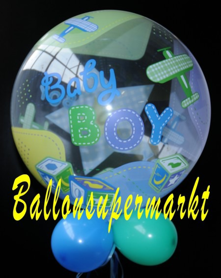Geburt-Baby-Boy-Bubble-Luftballon-2