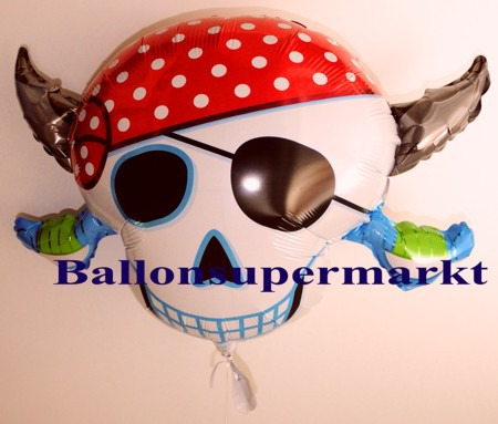 Piratenkopf-Luftballon-aus-Folie
