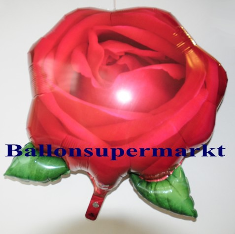 Rose-Luftballon-aus-Folie