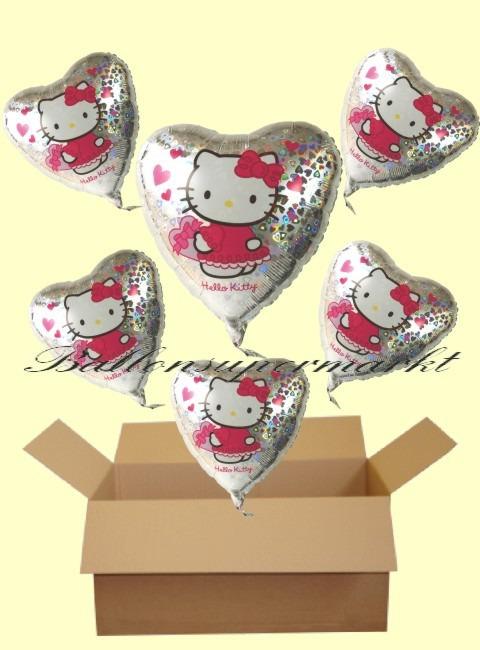 Geschenkidee-Kindergeburtstag-Hello-Kitty-Herzluftballons-mit-Helium