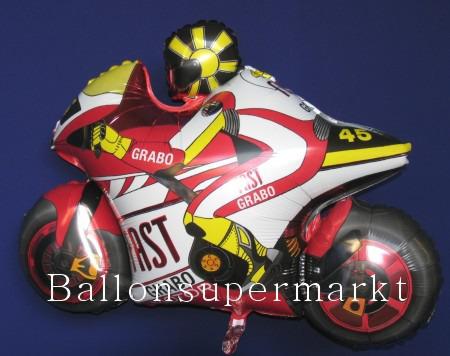 Motorrad Luftballon