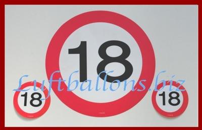 Geburtstag-Dekoration-Schilder-Geburtstagszahlen-Untersetzer