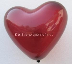 Herzluftballons in Burgund