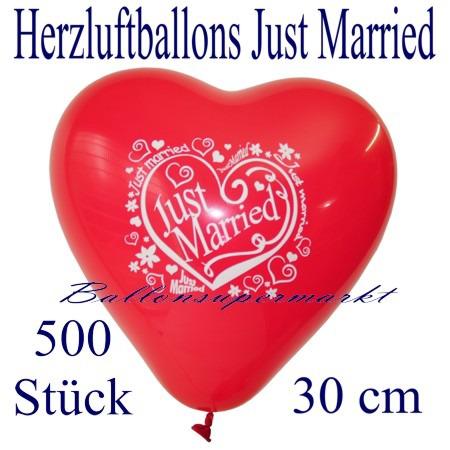 Herzluftballons-Hochzeit-Just-Married-30-cm-500