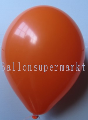 Luftballons Rundballons Oval Orange