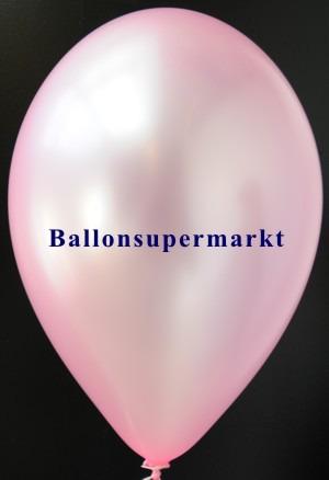 Luftballon-Pink-Metallicfarbe