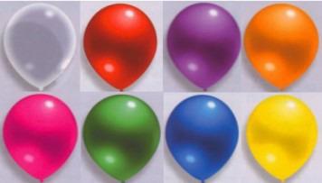 Luftballons Girlande Selbstbau_Set Farben