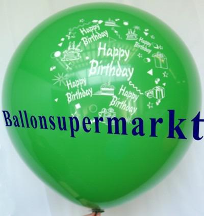 Riesen-Geburtstagsballon-Gruen