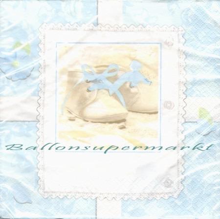 Servietten-Geburt-Taufe-Blau-Tiny-Blessings