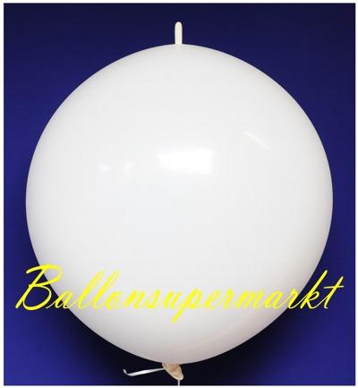 riesen-kettenballon-weiss