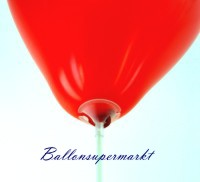 Ballonstäbe, Halter für Luftballons, Herzluftballons-Stäbe, Herzballons-Halter