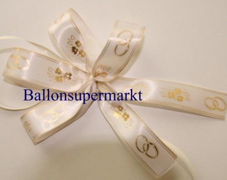Deko-Zierband-Schmuckband-Hochzeit-Zierschleife