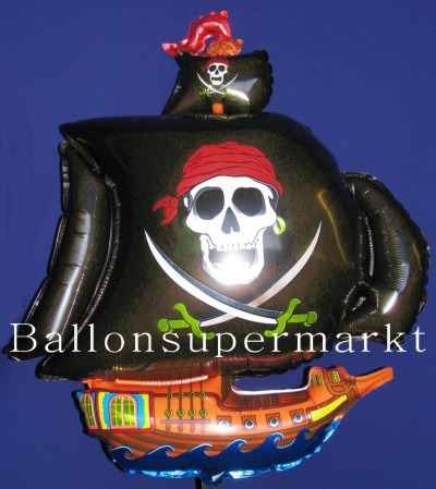 Piratenschiff Luftballon