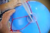 Fesselballon-Patentverschluss-Ballonband