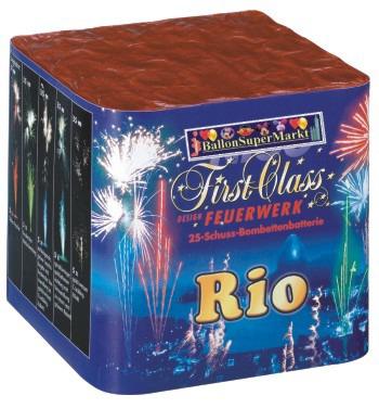 Feuerwerk Rio, Hochzeit, Silvester, Party und Event mit Batteriefeuerwerk