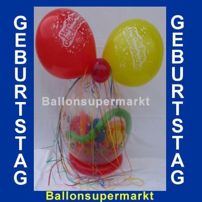 Geburtstagsballon Geburtstagsgeschenk