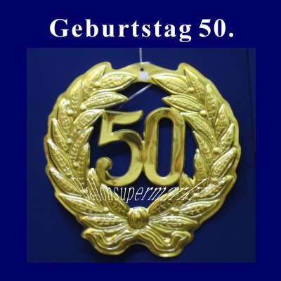 Ballonsupermarkt Geburtstag 50 Jahre