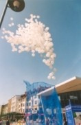 Ballonflugwettbewerb, Ballonmassenstart