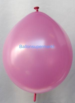 Girlandenballon-Kettenballon-Verbindungsballon-Rosa-Metallic