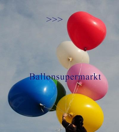 Riesenballon-Herzballon-riesiger-Herzluftballon-Rot
