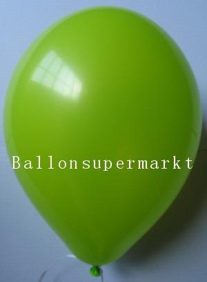 Luftballons Rundballons Oval Pistazie