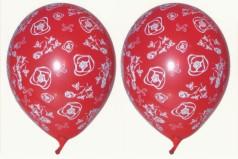 Luftballons mit Rosen