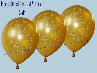 Just-Married-Hochzeitsballons-Latex-Luftballon-gold