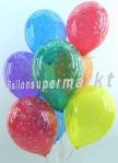 Luftballons Feuerwerk Silvester