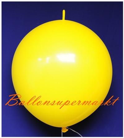 riesen-girlanden-ketten-luftballon-gelb