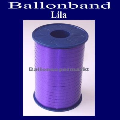 Ballonband-Rolle-Lila