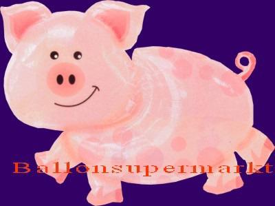 Glücksschweinchen Luftballon