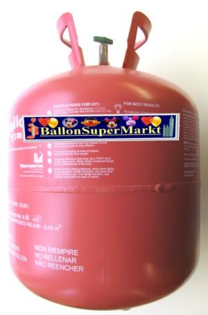 Helium Einweg Flasche Behaelter