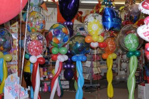 Ballonsupermarkt-Bubble-Luftballons