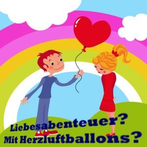 Liebesabenteuer mit Herzluftballons