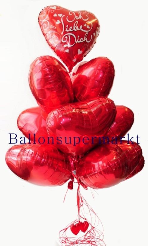 Liebeszauber-Luftballons