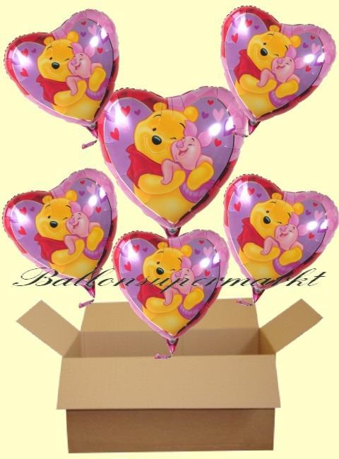 Puuh-Ferkel-Luftballons-Geschenke-Kindergeburtstag