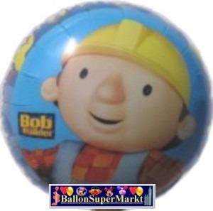 Folienballon Bob der Baumeister Porträt