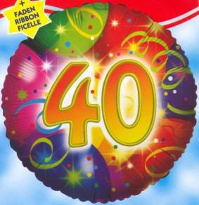 Geburtstag 40. Ballons, Jubiläum