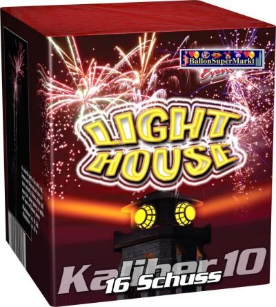 Feuerwerk Light House, Hochzeit, Silvester, Party und Event mit Batteriefeuerwerk
