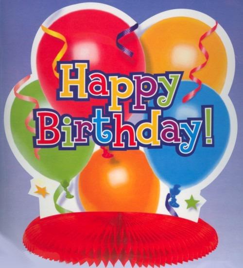 Dekoration-Geburtstag-Tischdekoration-Tischständer: Happy Birthday