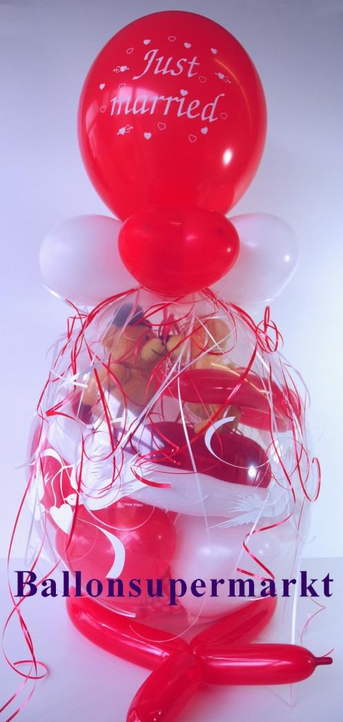 Geschenkballon-Wildes-Hochzeitspärchen